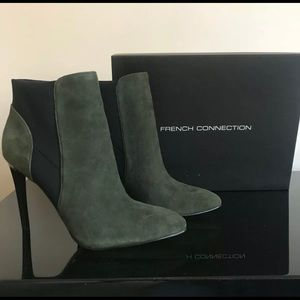 FRENCH CONNECTION - POINTED TOE ANKLE BOOT SZ 8.5